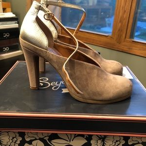 Anthropologie by Seychelles Heritage heel size 7.5